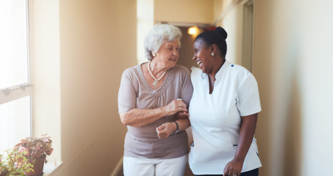Care Home and elderly woman | Professional Care Home Advice