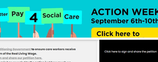 Action week advert | Professional Care Home Advice