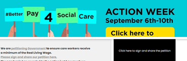 Action week advert   Professional Care Home Advice