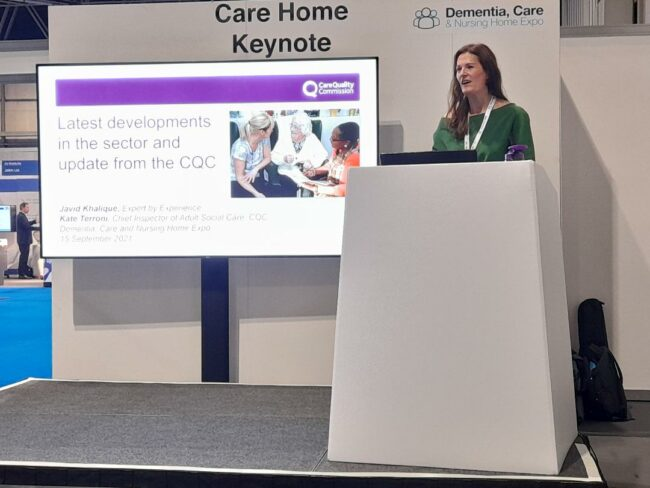 """Regulation of COVID jabs will be """"proportionate"""", CQC tells care show"""