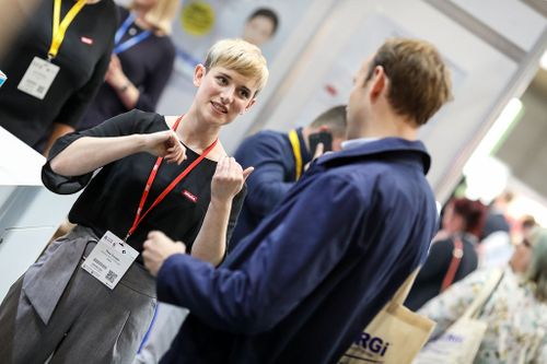 People attending Care Show | UK Care Home Industry News