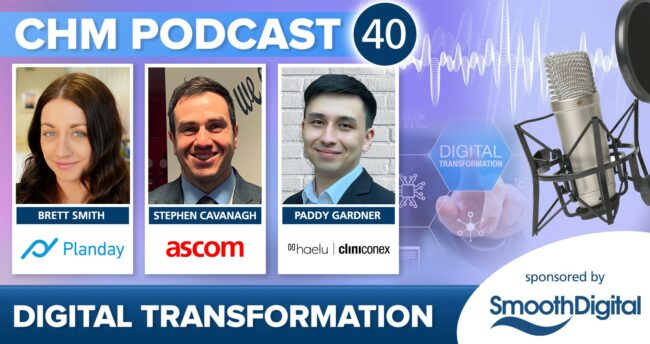 CHM Podcast 40 Digital Transformation