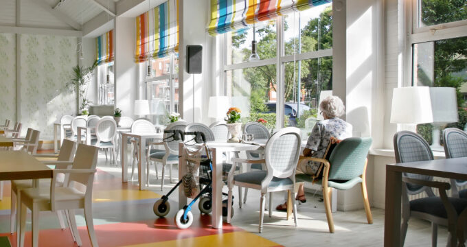 Care home dining room | Care Home Supplier News