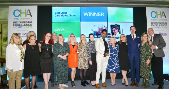 Care UK team at Care Home Awards | Care Home News