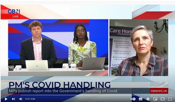 GB News screenshot | UK Care Home Industry News