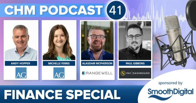 Care Home Management Podcast 41 - Finance Special   Care Home News